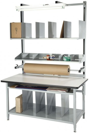 Industrial Workbenches Work Tables Packing Tables For Warehouses - 8 ft stainless steel work table