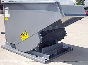 Self Dumping Hoppers | Trash Hoppers | Forklift Dumpsters