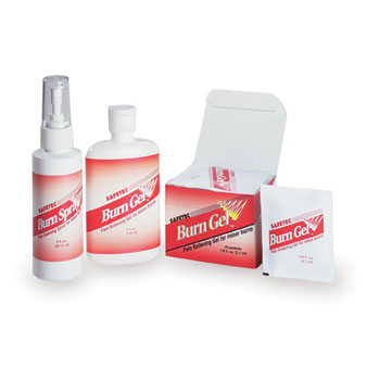 Safetec® Burn Gel™ & Burn Spray™