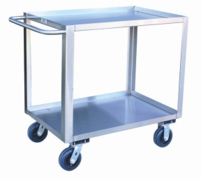 Model YJ - Service Cart with Standard Handle - 2 Shelves