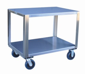 Model YM - Stainless Transfer Cart - No Handle