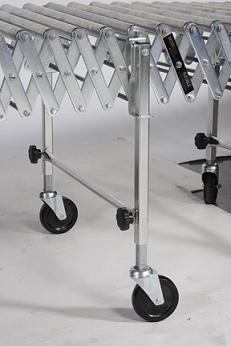 Nestaflex® RLS Flexible Gravity Roller Conveyor